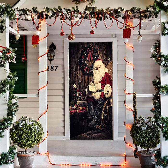 Santa Claus With Gifts - door cover