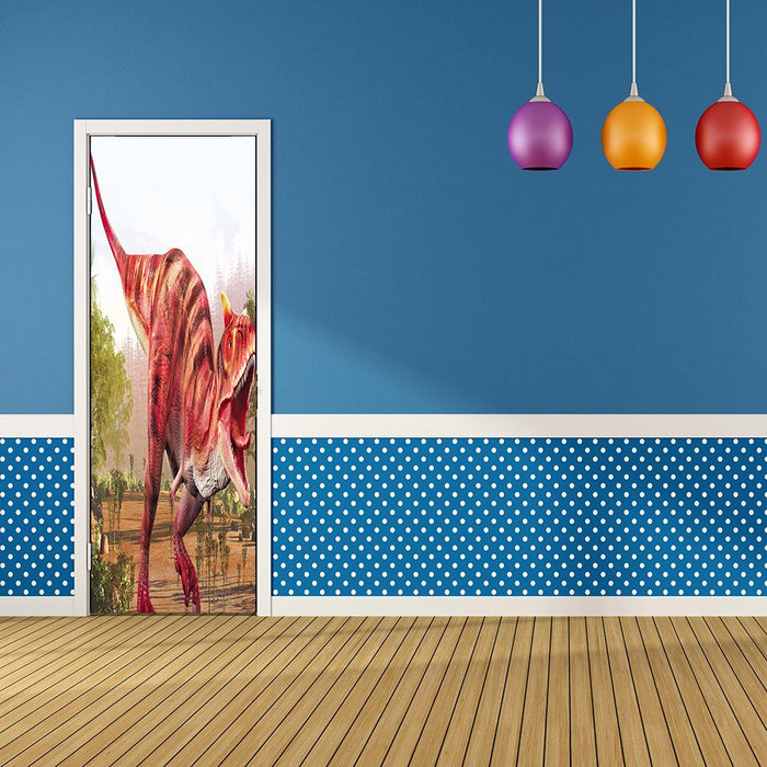 Dinosaur Door Decor