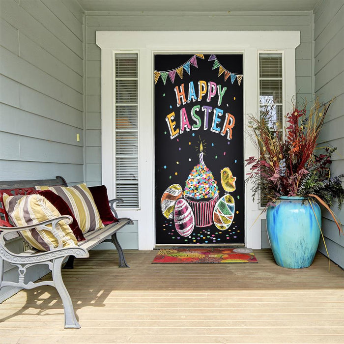 Happy Easter Door Decoration