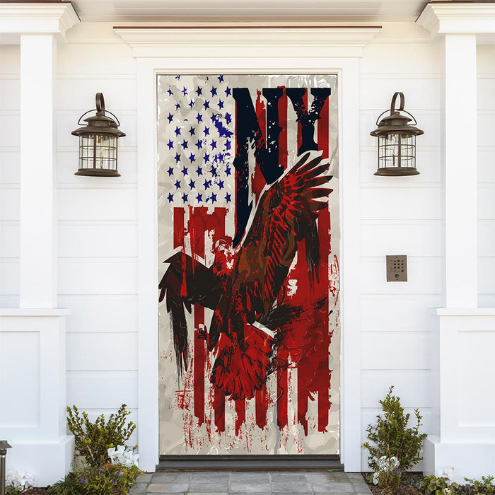 American Eagle NY Door Cover