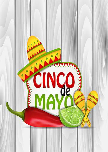 Cinco De Mayo Backdrop