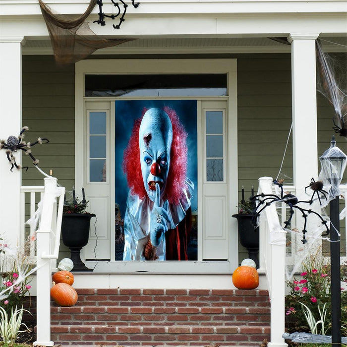 Original Pennywise Fabric Door Cover