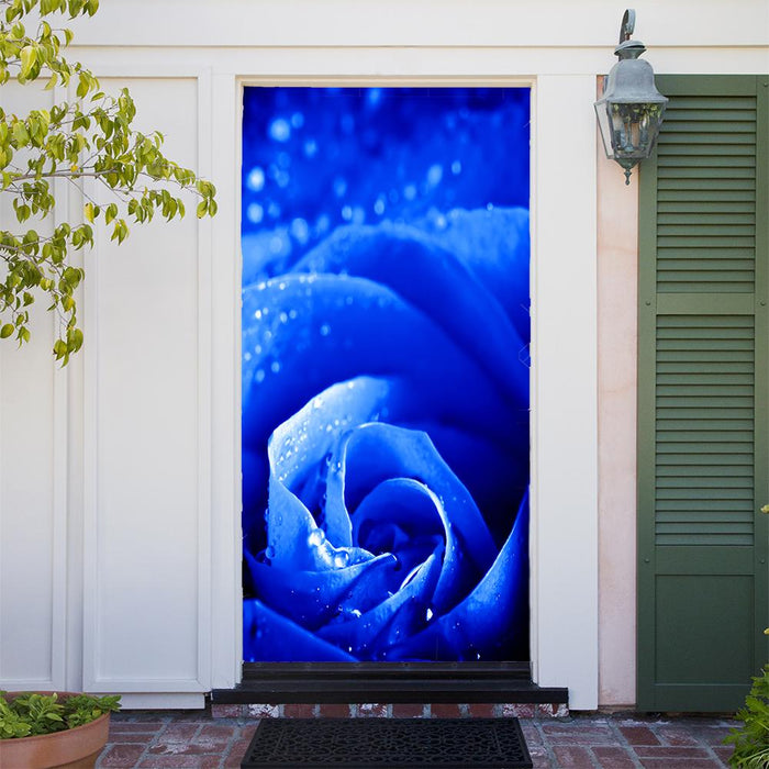 Customizable - Blue Rose