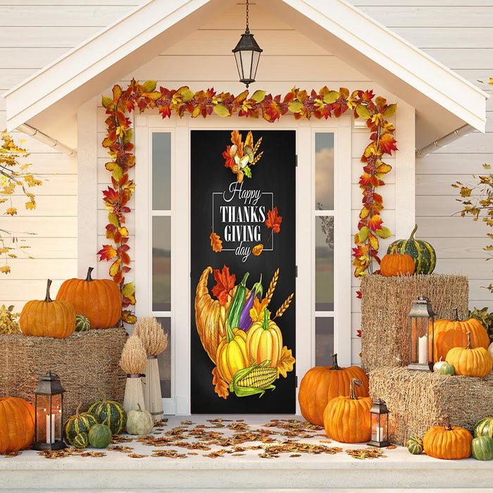 Thanksgiving Door Cover