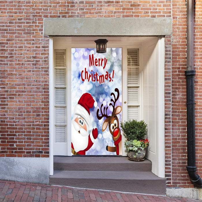 Santa Claus Door Decor