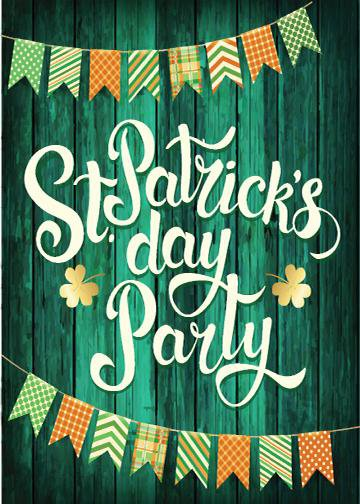 St. Patrick's Day Party, DoorWrap - Door Decoration