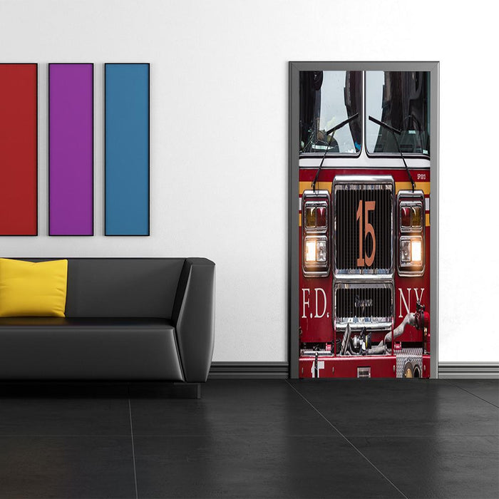 Fire Truck Decor