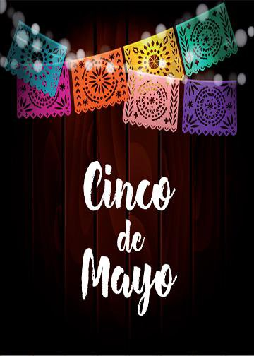 Cinco De Mayo Door Cover