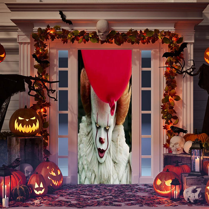 Pennywise Scary Door Decoration