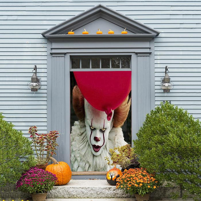 Pennywise Scary Door Decor
