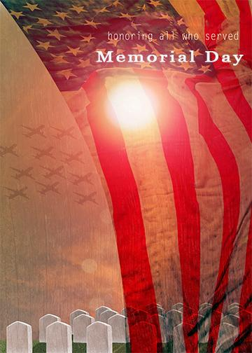 Memorial Day Door Cover