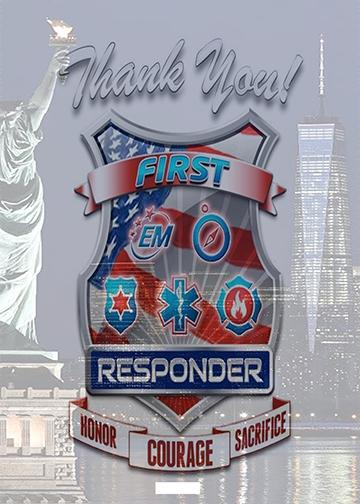 First Responder Decor
