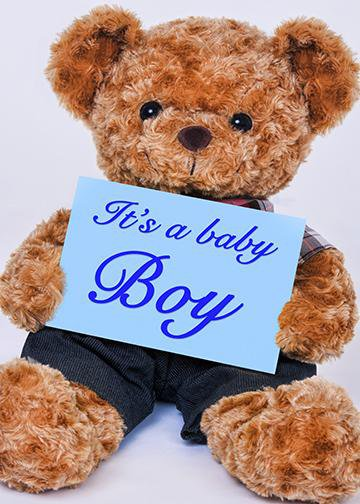 It's a Boy - Teddy Bear