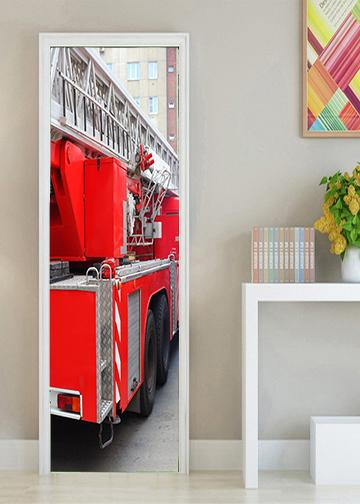 Fire Truck Bedroom Decor