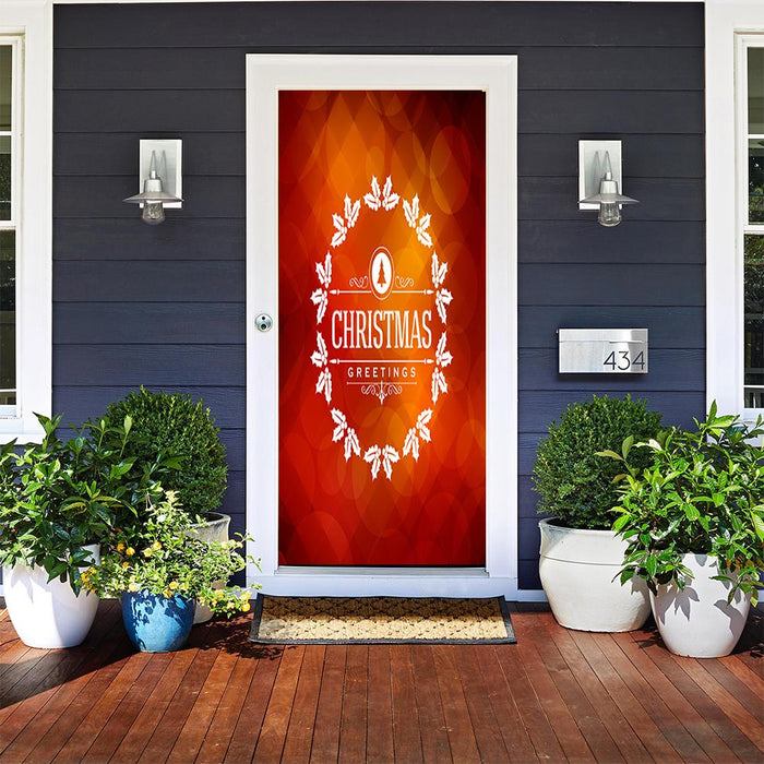 Merry Christmas - door cover