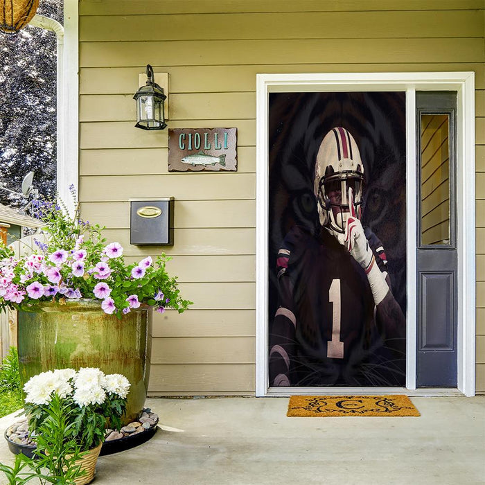 Auburn Football Door Cover
