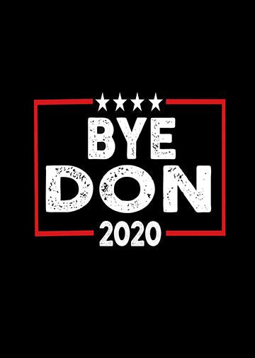 Bye Don 2020 Door Cover