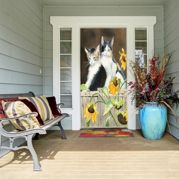 Susan Bourdet Cat Art door cover