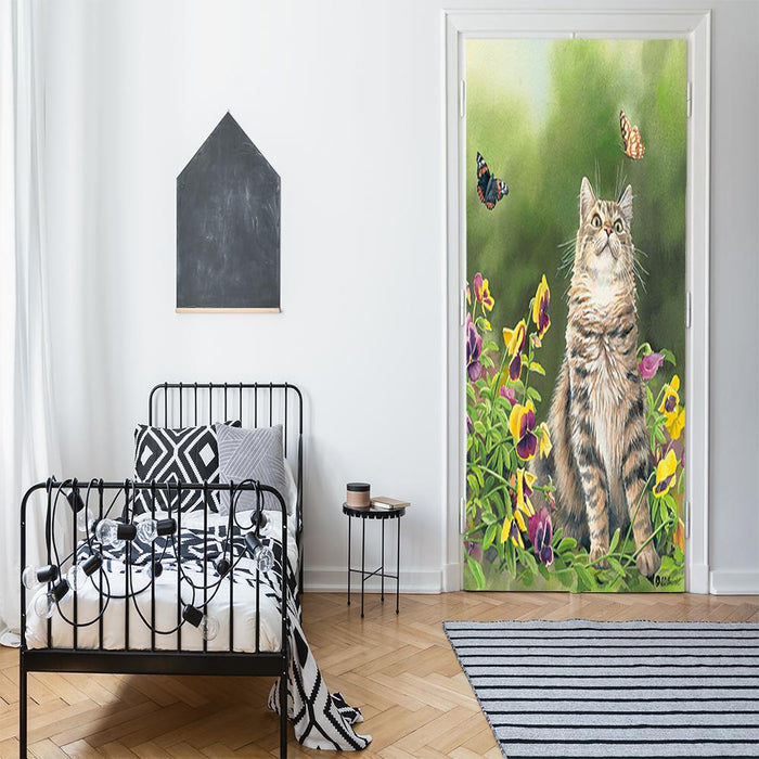Outdoor Cat Decor