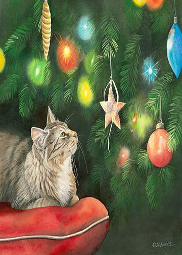 Cat Christmas Decorations
