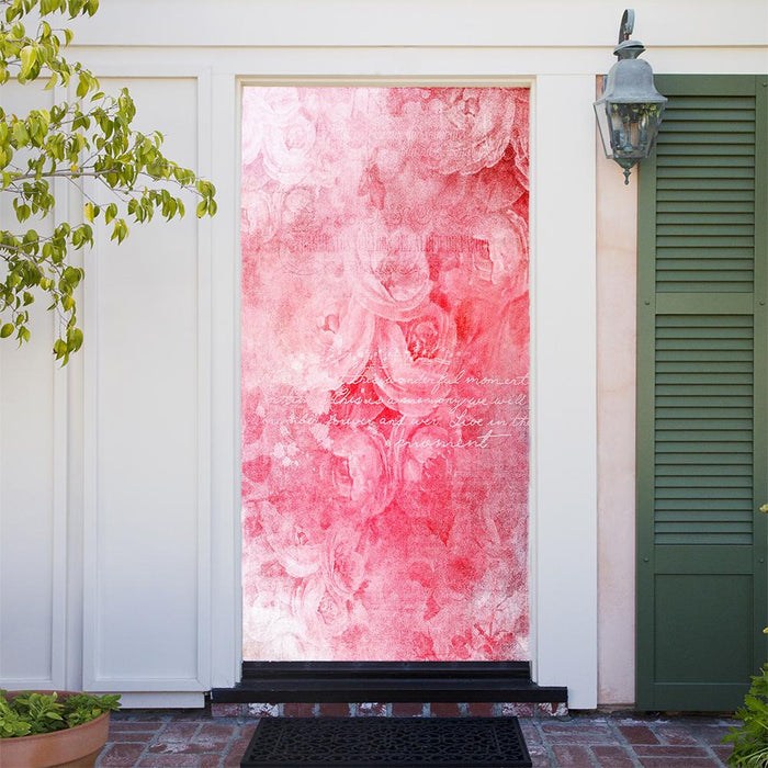 Customizable - Pink Expressions Door Cover