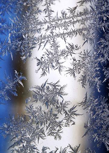 Winter Ice, DoorWrap - Door Decoration