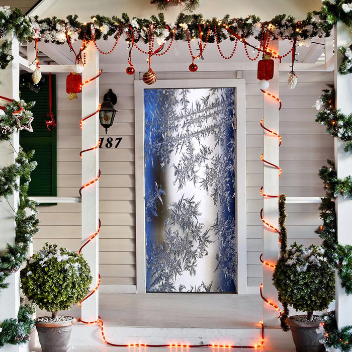 Winter Fabric Door Hangers