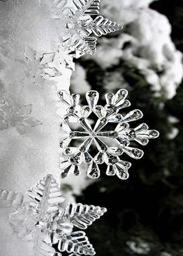 Christmas Ice Snowflakes