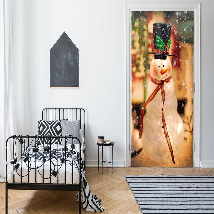 Snowman Door Decorations Bedroom Decor
