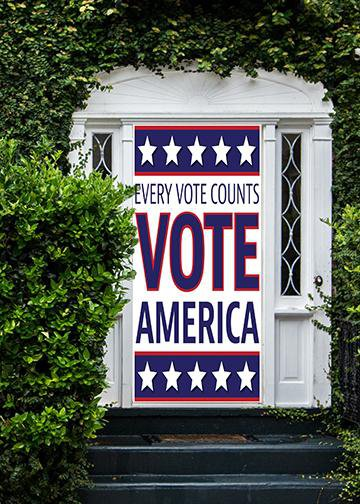 Vote America, DoorWrap - Door Decoration