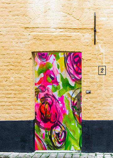 Door Floral Arrangements