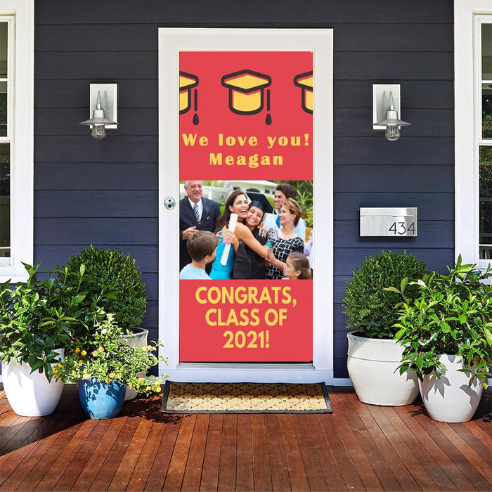 Customizable - Grad Party Sign