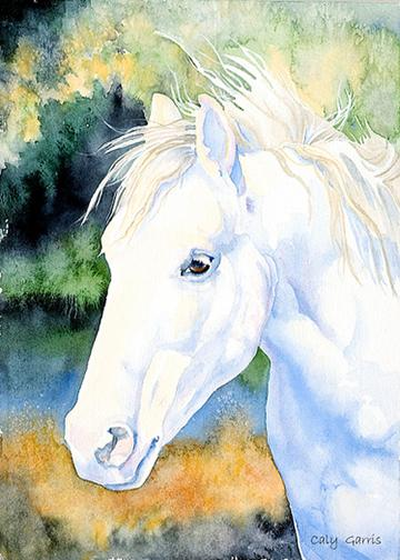 White Horse Artwork