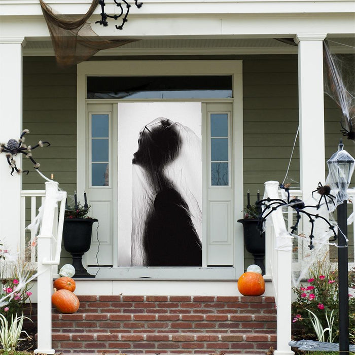 Halloween Door Silhouette