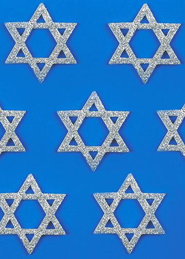 Star of David, DoorWrap - Door Decoration