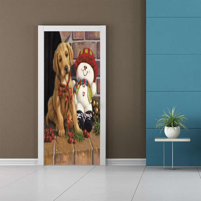 Puppy Decorations, Door Cover