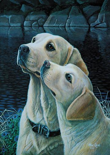 Yellow Labrador Retriever Decor