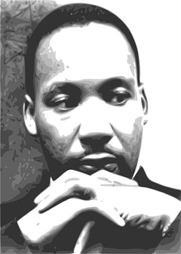 Martin Luther King Door Wraps