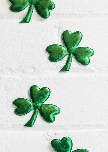 Three Leaf Clovers Door Decoration Doorfoto
