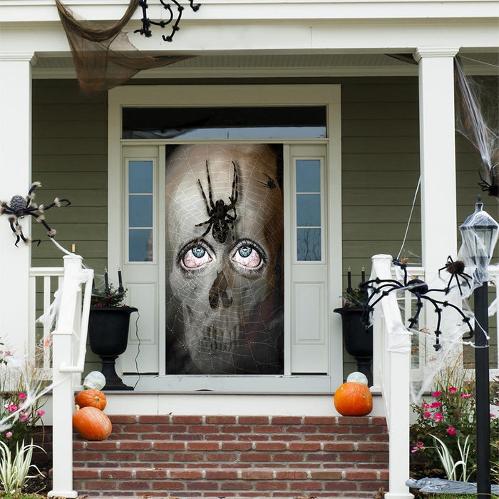 Skeleton Fabric Door Decoration