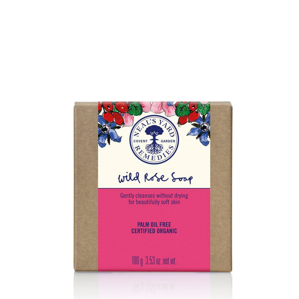 Neal's Yard Remedies Wild Rose Organic Soap - 100g