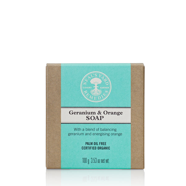 Neal's Yard Remedies Geranium & Orange Soap - 100g