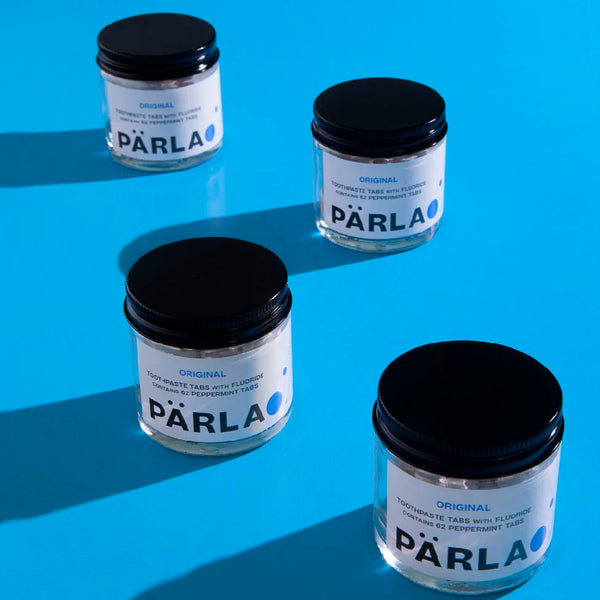 PÄRLA ORIGINAL Naturally Whitening Toothpaste Tabs