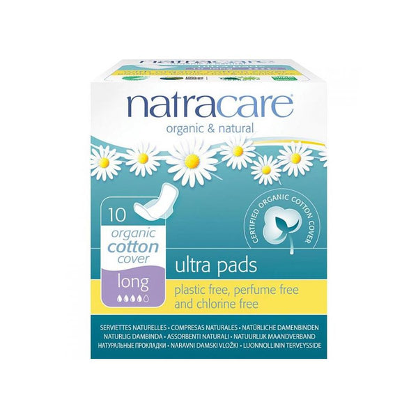 Natracare Ultra Pad with wings Long