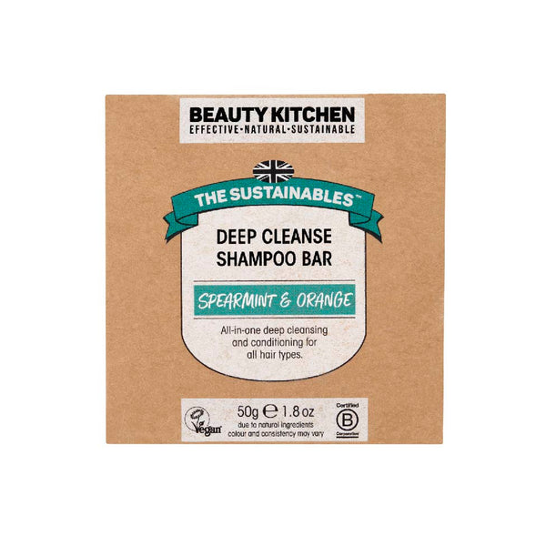 Beauty Kitchen The Sustainables Deep Cleanse Shampoo Bar 50g