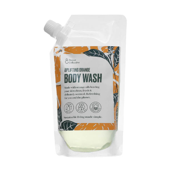 Bower Uplifting Orange Body Wash Refill 500ml