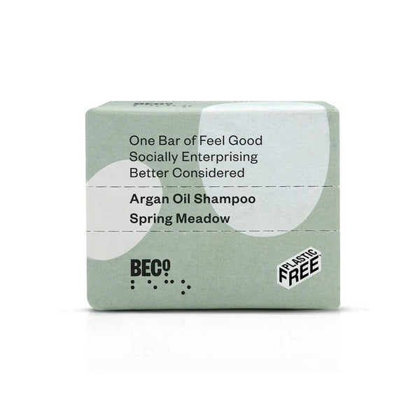 Beco Argan Oil Shampoo Bar, 90g - Spring Meadow
