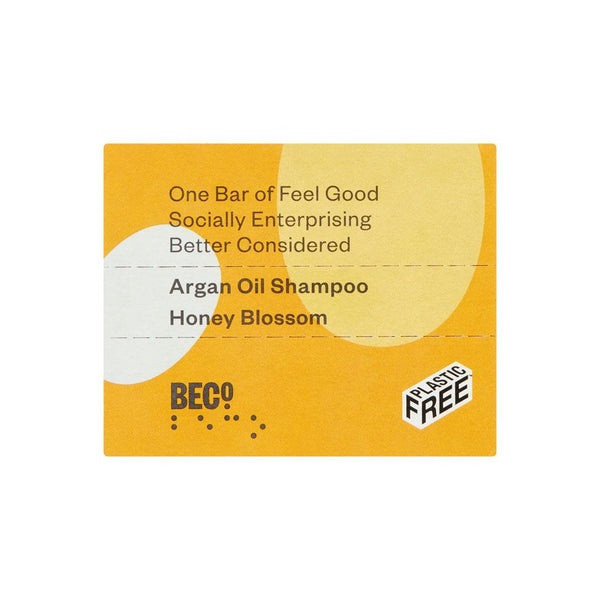 Beco Argan Oil Shampoo Bar, 90g - Honey Blossom
