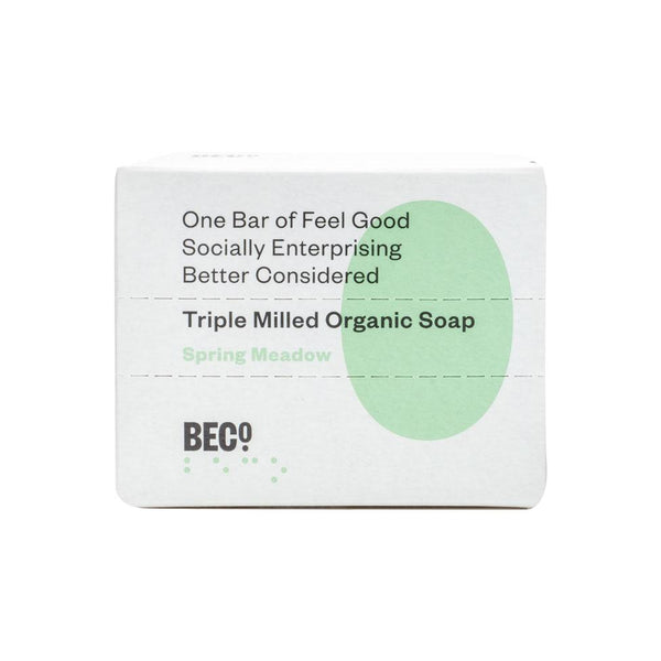 Beco Triple Milled Organic Soap Bar, 100g - Spring Meadow