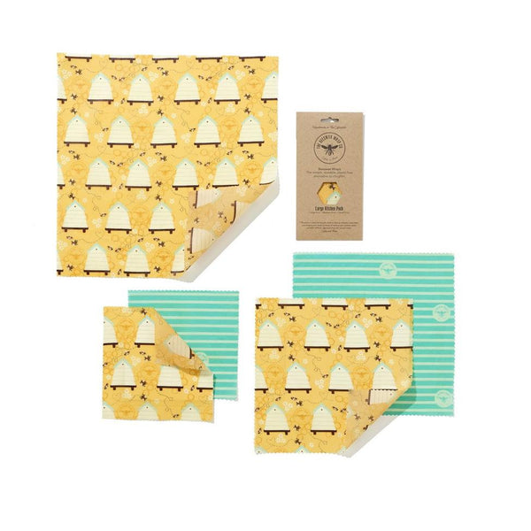 Beeswax Food Wraps - Large Variety Pack